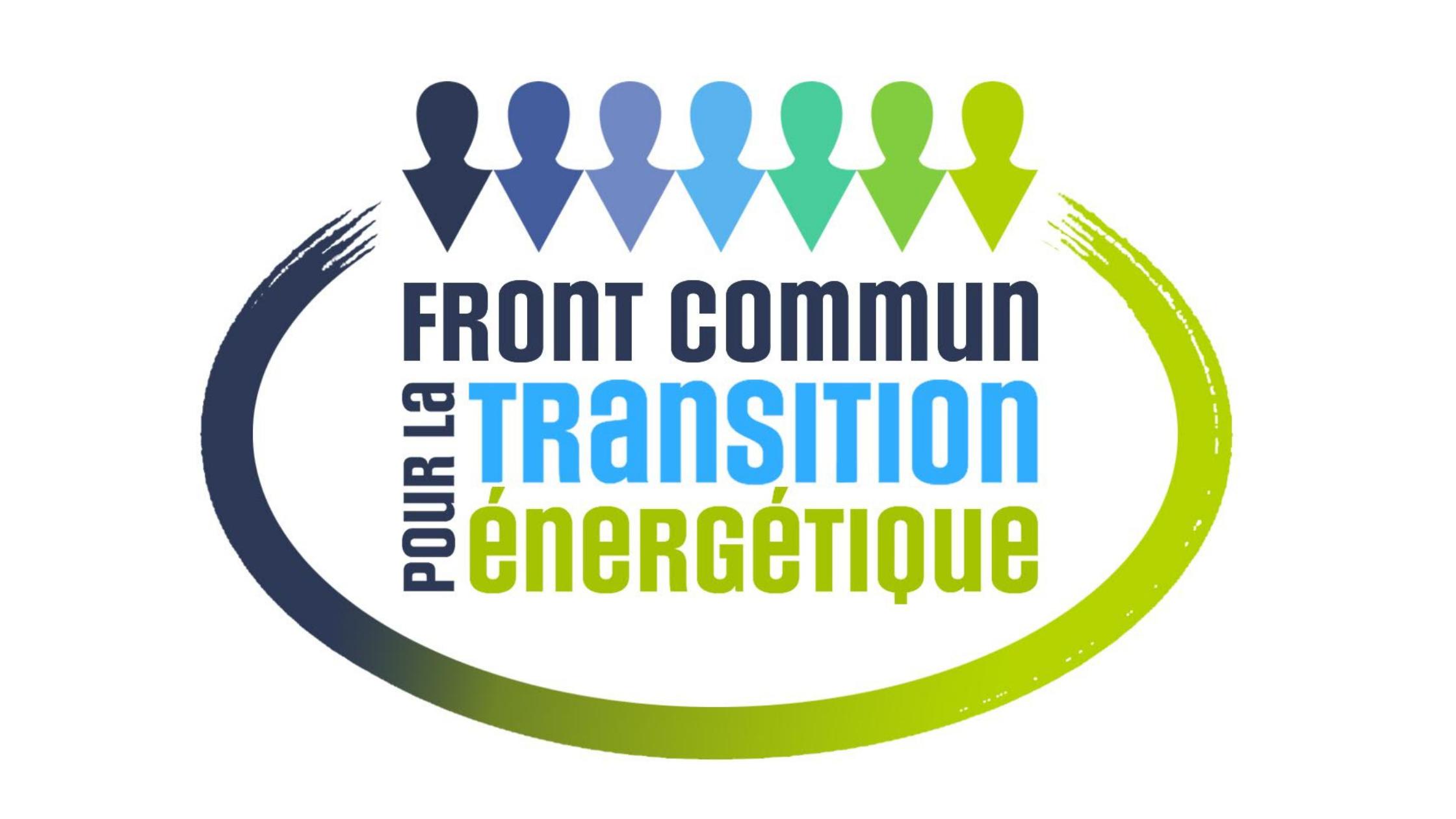 Front commun pour la transition énergitique, logo